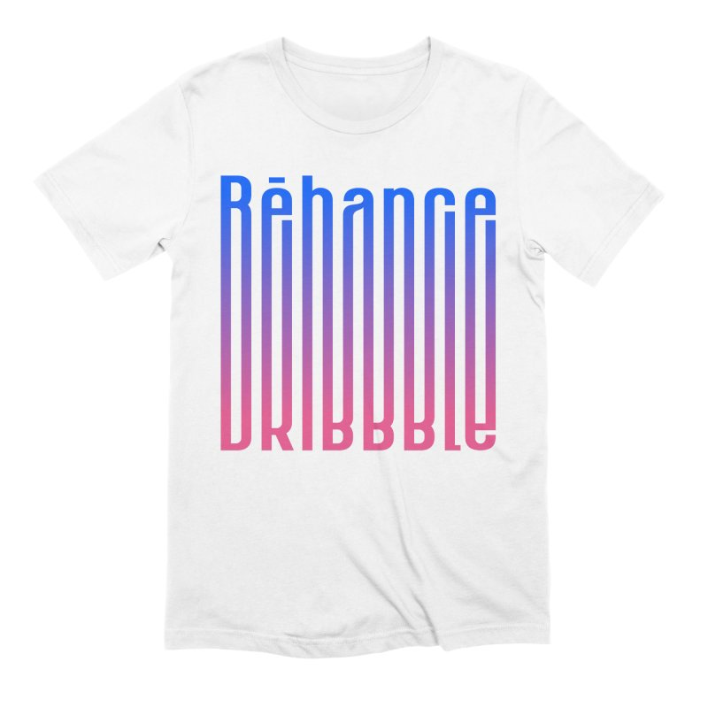 Behance dribbble Men's Extra Soft T-Shirt by ARES SHOP