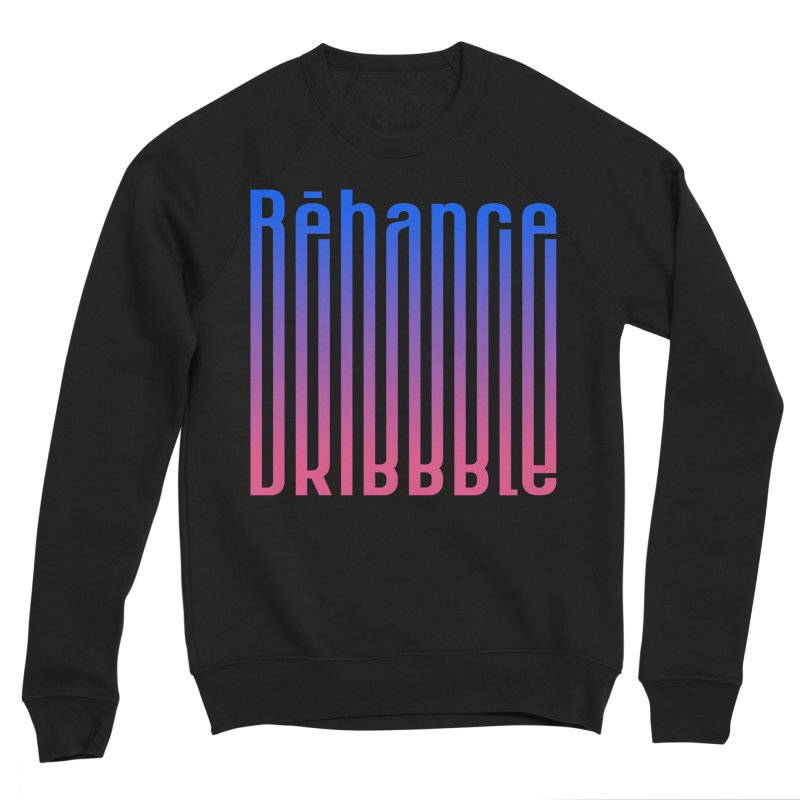 Behance dribbble Women's Sponge Fleece Sweatshirt by ARES SHOP
