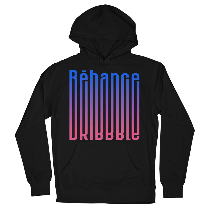 Behance dribbble Men's French Terry Pullover Hoody by ARES SHOP