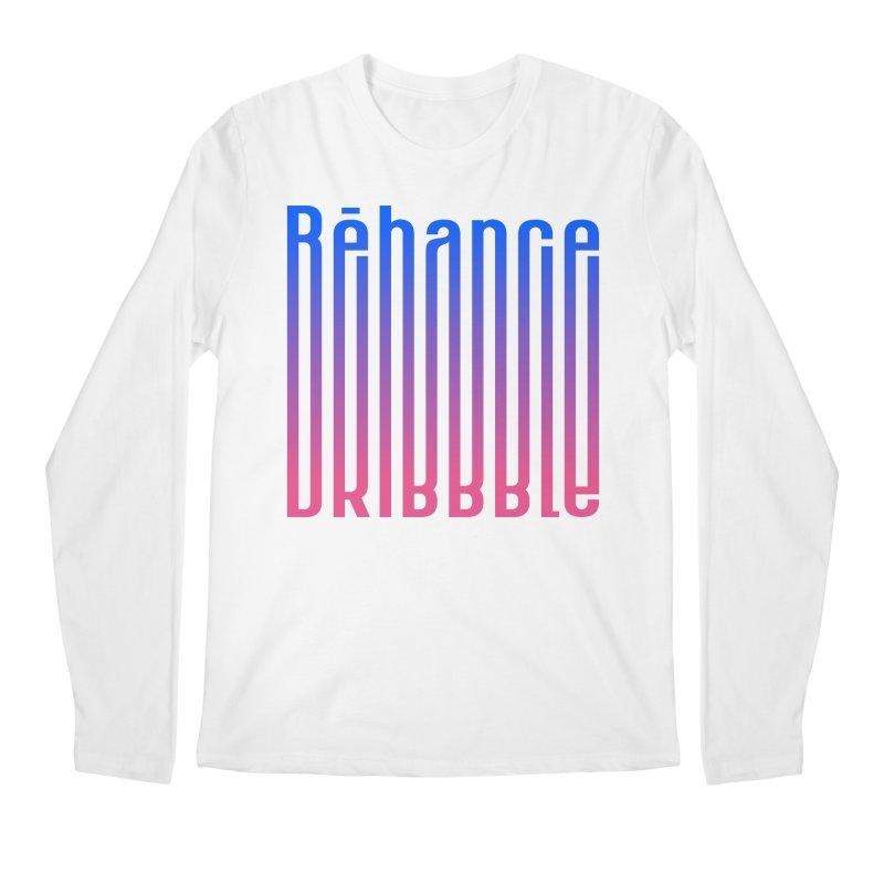 Behance dribbble Men's Regular Longsleeve T-Shirt by ARES SHOP