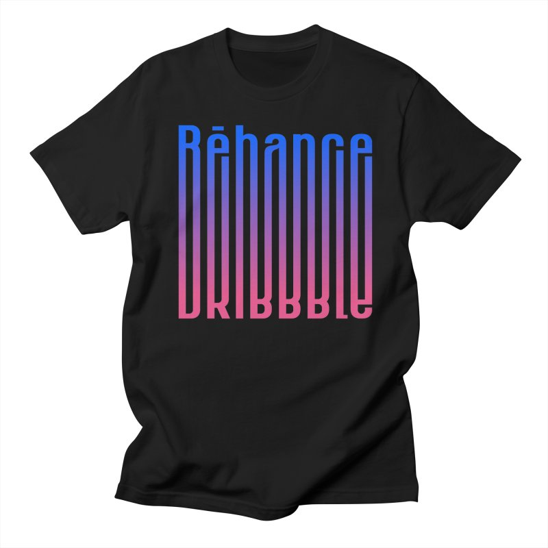 Behance dribbble Men's Regular T-Shirt by ARES SHOP