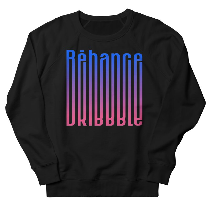 Behance dribbble Women's French Terry Sweatshirt by ARES SHOP