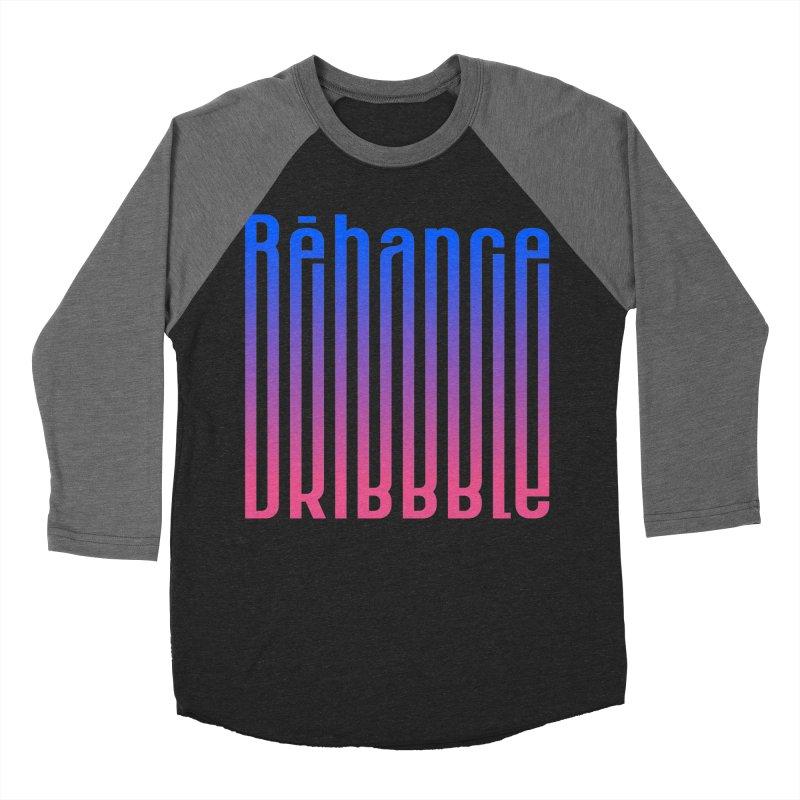 Behance dribbble Women's Baseball Triblend Longsleeve T-Shirt by ARES SHOP