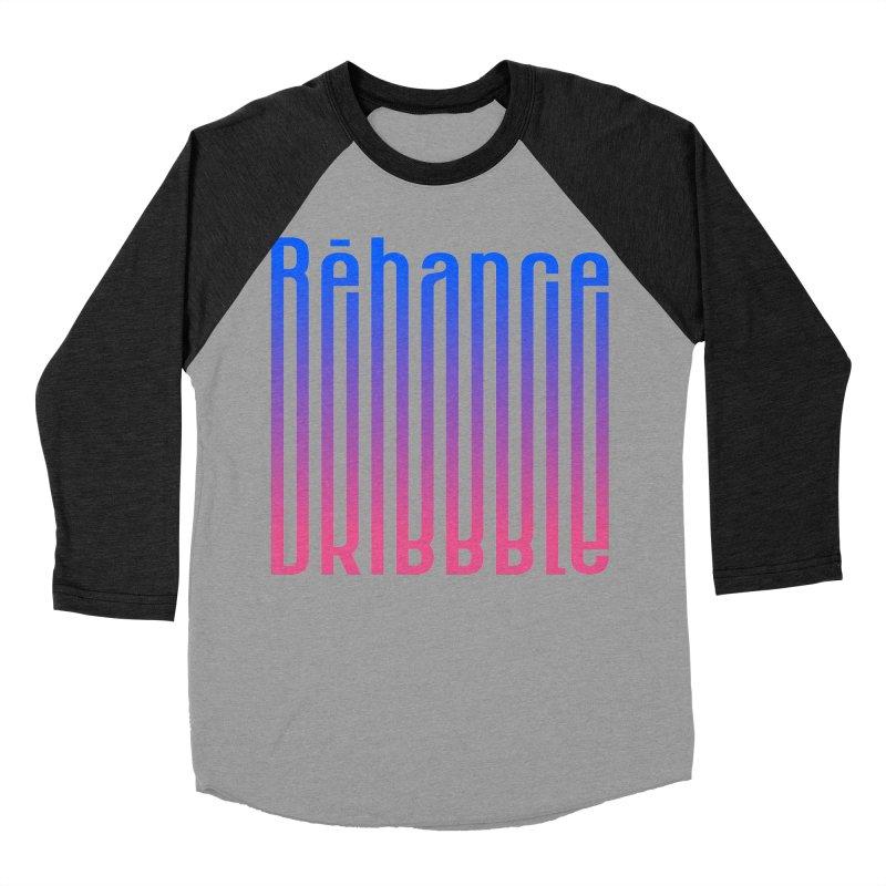 Behance dribbble Men's Baseball Triblend Longsleeve T-Shirt by ARES SHOP