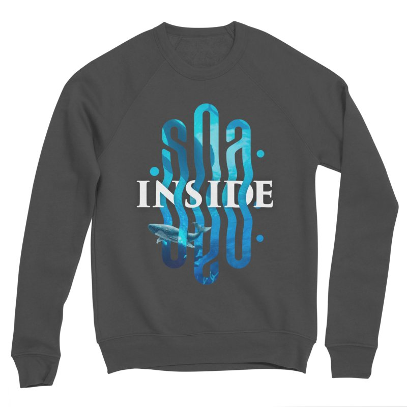 Sea inside Women's Sponge Fleece Sweatshirt by ARES SHOP