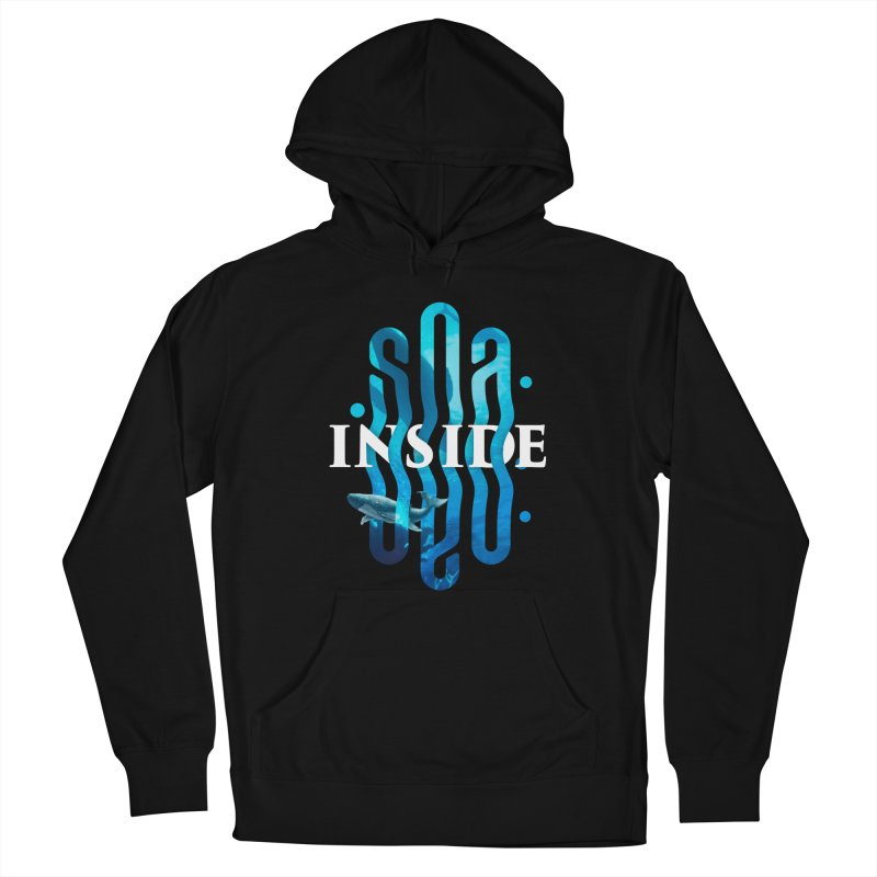 Sea inside Men's Pullover Hoody by ARES SHOP