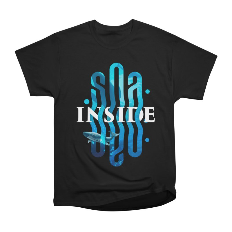 Sea inside Men's Heavyweight T-Shirt by ARES SHOP