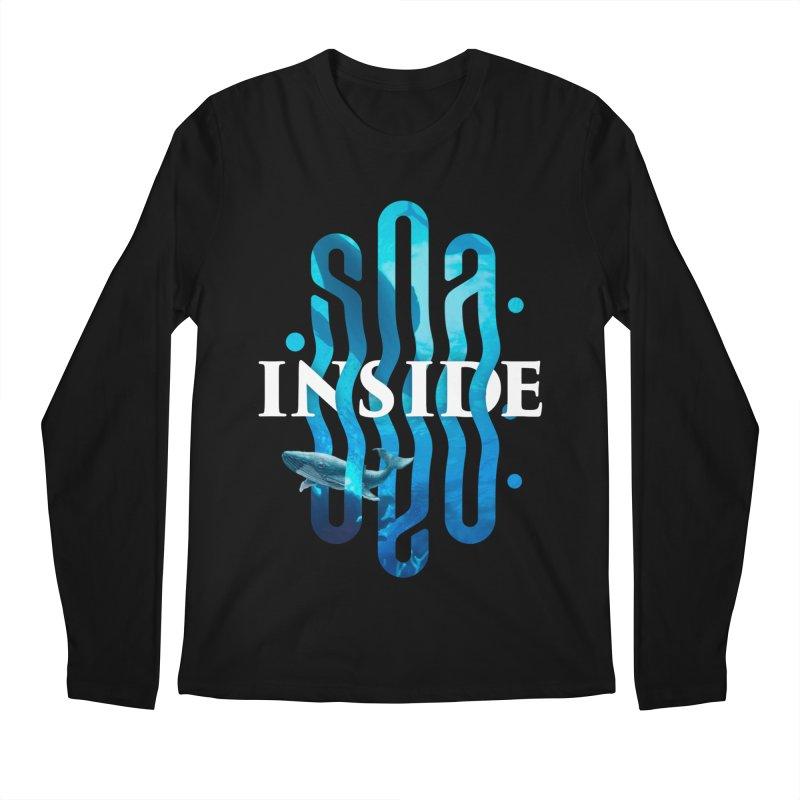 Sea inside Men's Regular Longsleeve T-Shirt by ARES SHOP