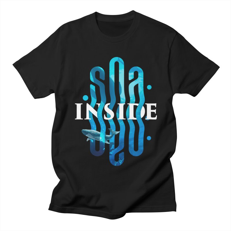 Sea inside Men's Regular T-Shirt by ARES SHOP