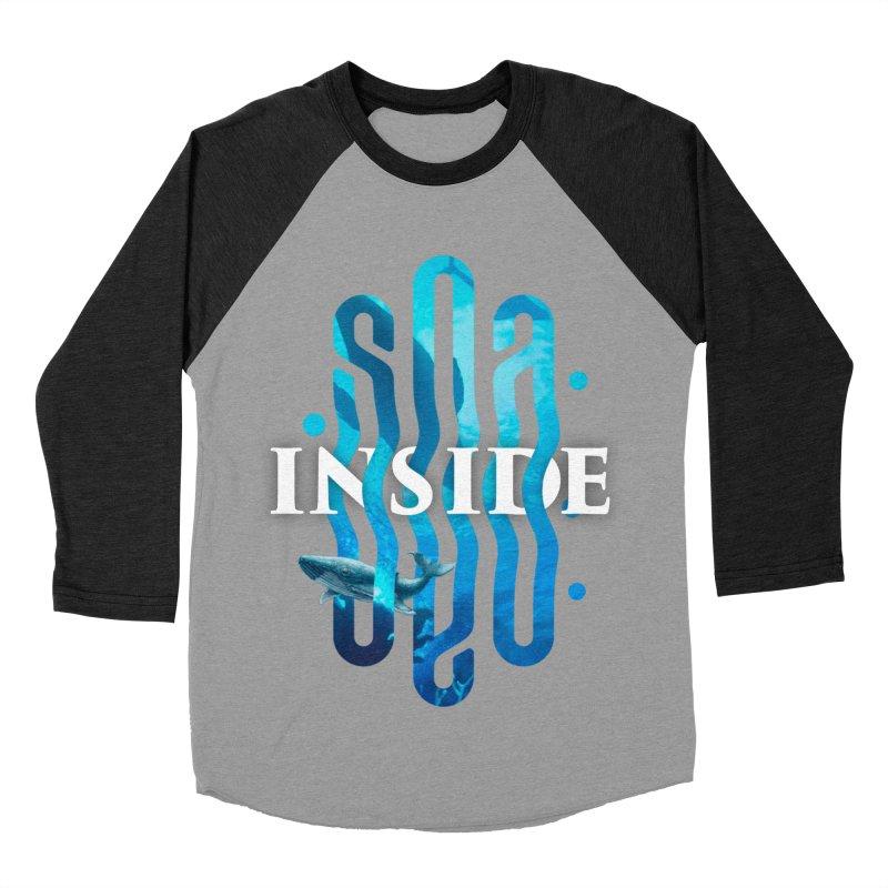 Sea inside Men's Baseball Triblend Longsleeve T-Shirt by ARES SHOP