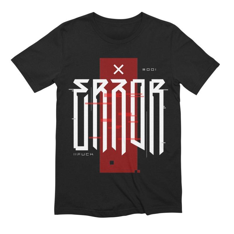 Error Men's T-Shirt by ARES SHOP