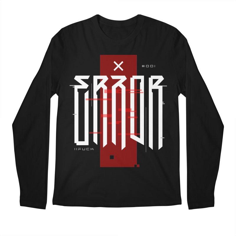 Error Men's Longsleeve T-Shirt by ARES SHOP