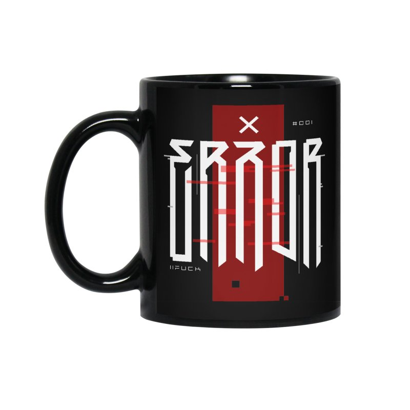 Error Accessories Standard Mug by ARES SHOP