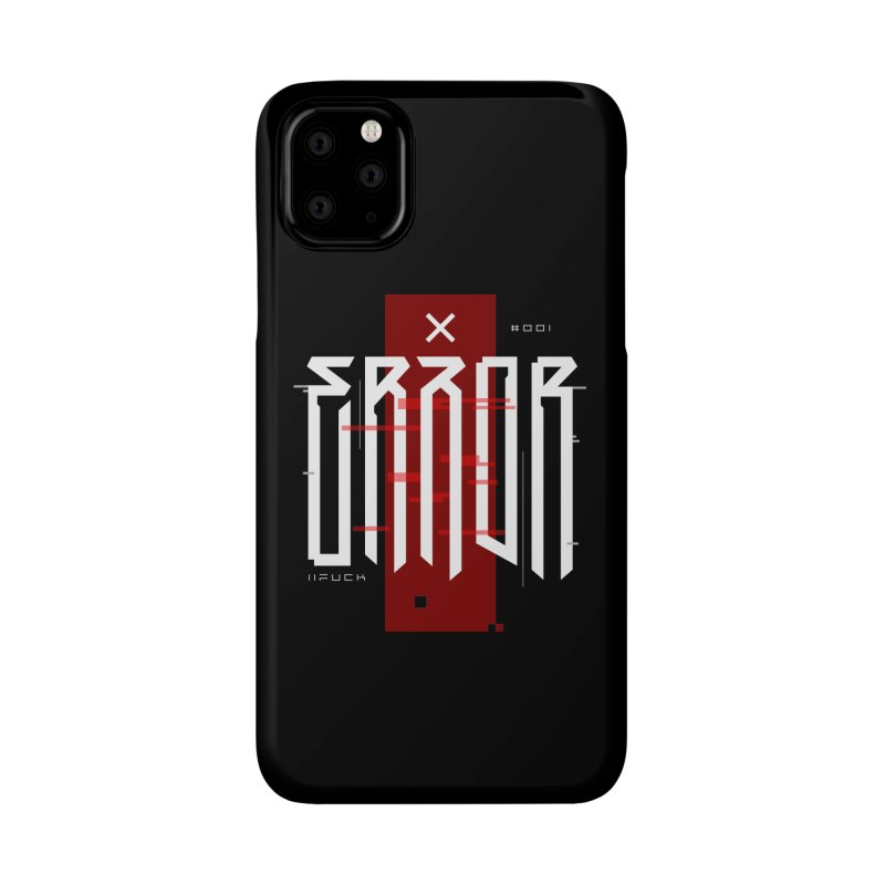 Error Accessories Phone Case by ARES SHOP
