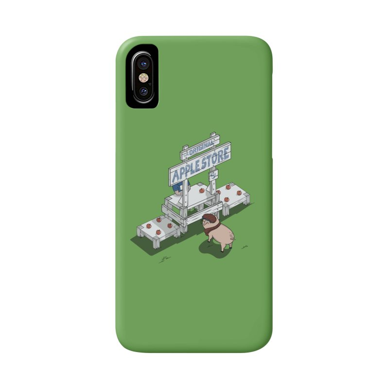 The Original Apple Store Accessories Phone Case by wilbury tees