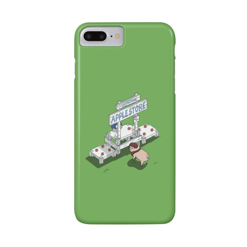 The Original Apple Store Accessories Phone Case by wilbury tees