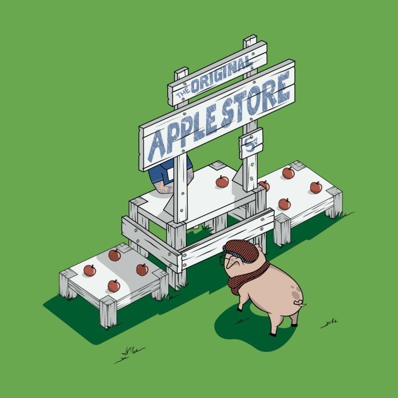 The Original Apple Store by wilbury tees