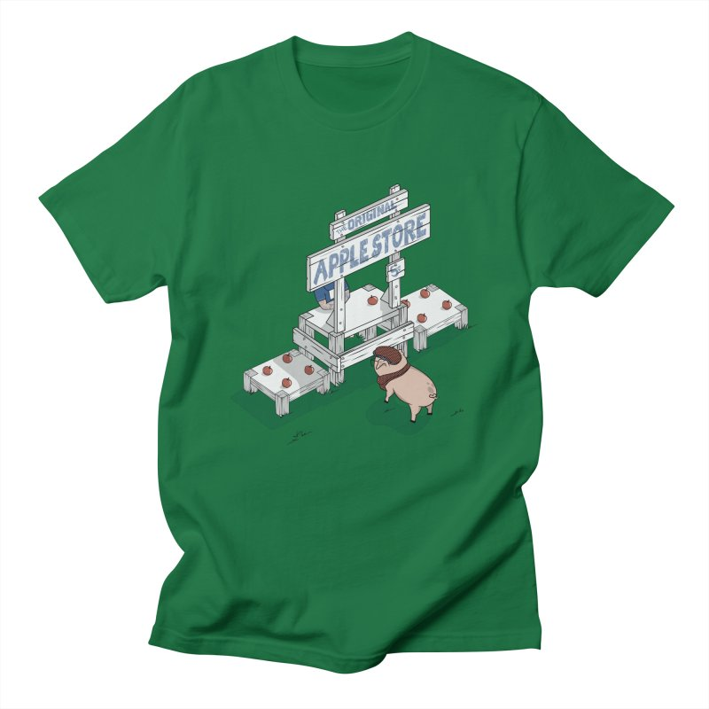 The Original Apple Store Men's T-Shirt by wilbury tees