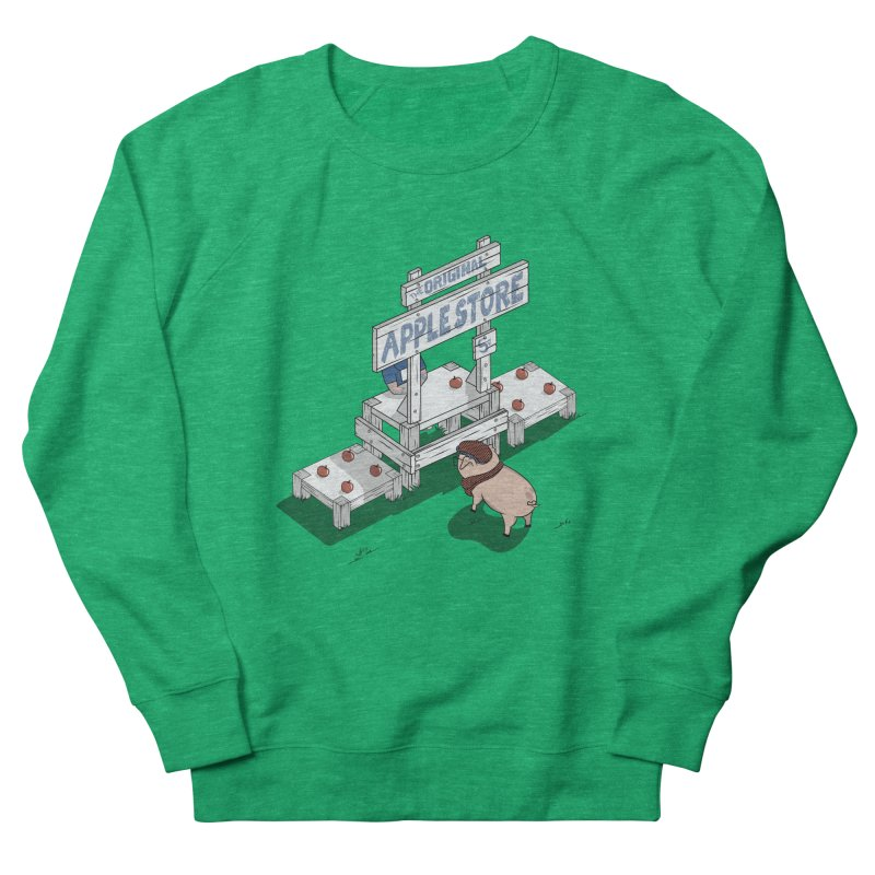 The Original Apple Store Men's Sweatshirt by wilbury tees
