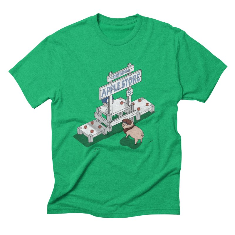 The Original Apple Store Men's Triblend T-Shirt by wilbury tees