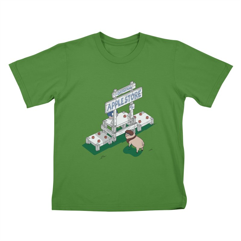 The Original Apple Store Kids T-shirt by wilbury tees