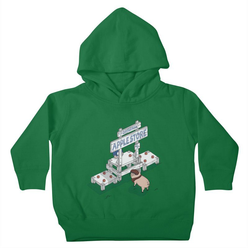 The Original Apple Store Kids Toddler Pullover Hoody by wilbury tees