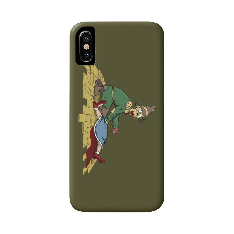 If I Only Had Some Brains Accessories Phone Case by wilbury tees