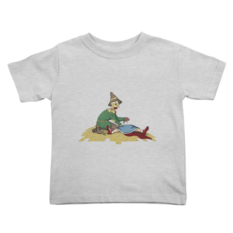 If I Only Had Some Brains Kids Toddler T-Shirt by wilbury tees