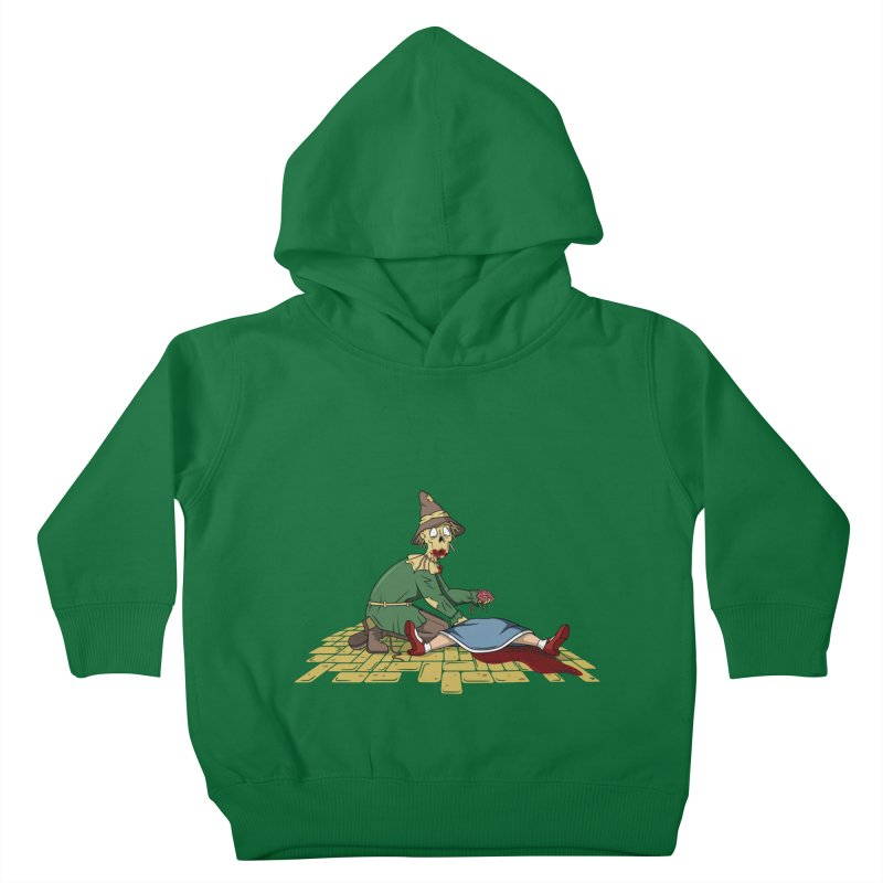 If I Only Had Some Brains Kids Toddler Pullover Hoody by wilbury tees