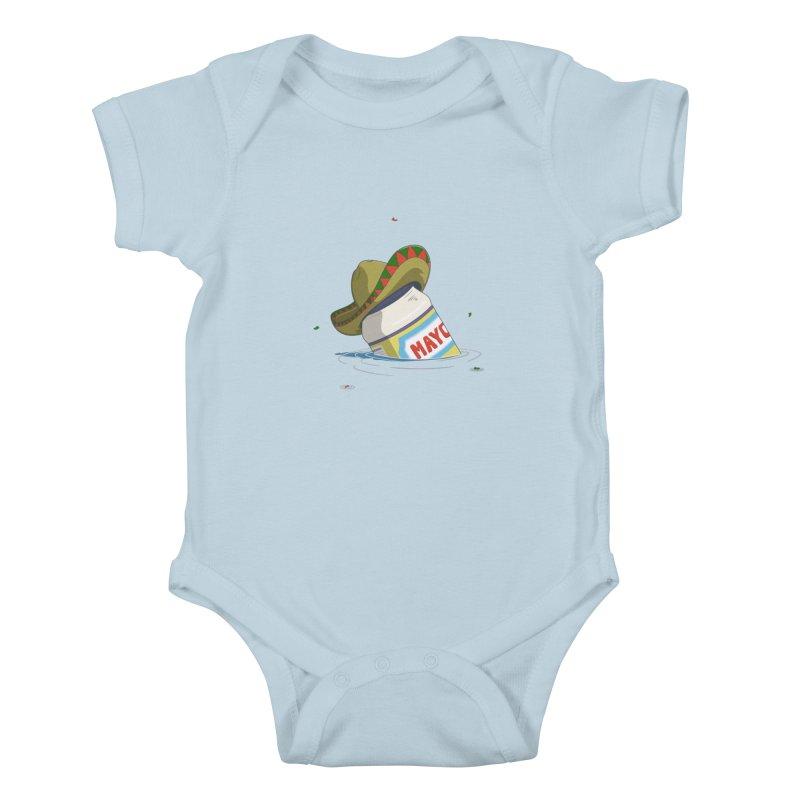 Sink-o De Mayo Kids Baby Bodysuit by wilbury tees