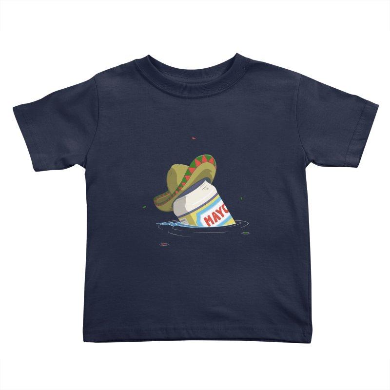 Sink-o De Mayo Kids Toddler T-Shirt by wilbury tees