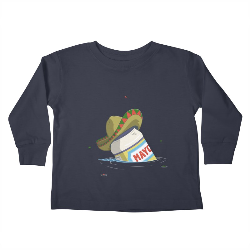 Sink-o De Mayo Kids Toddler Longsleeve T-Shirt by wilbury tees
