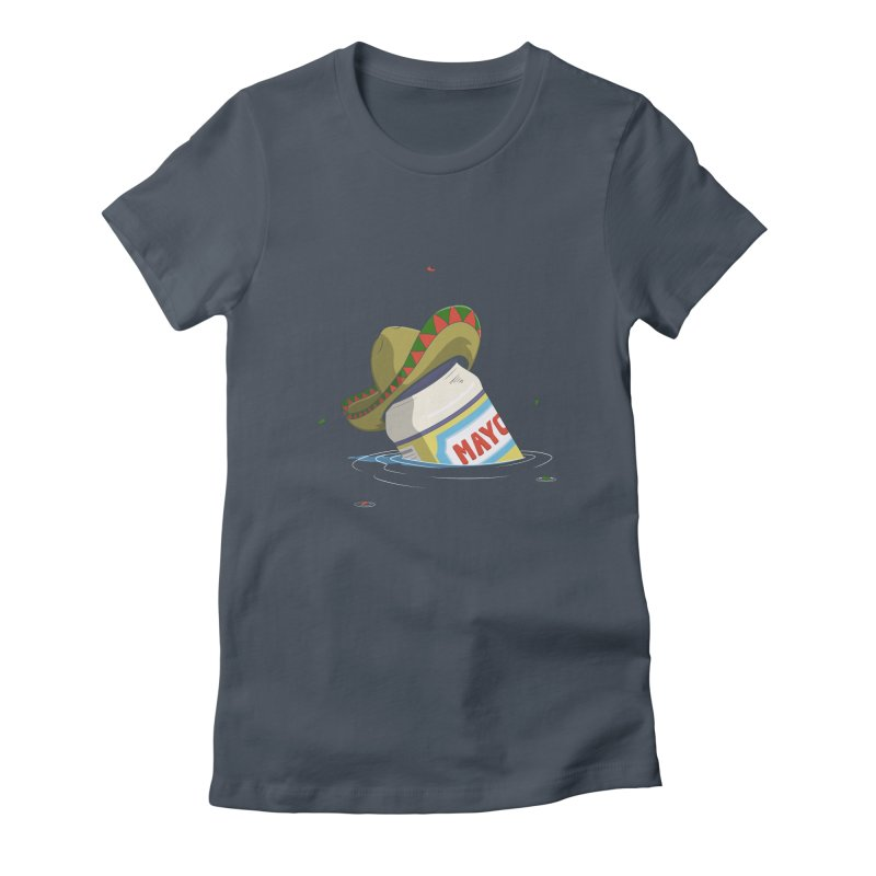 Sink-o De Mayo Women's Fitted T-Shirt by wilbury tees
