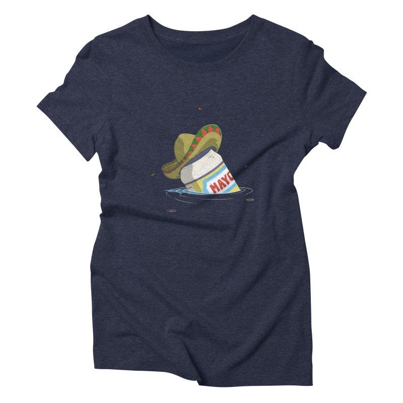 Sink-o De Mayo Women's Triblend T-shirt by wilbury tees