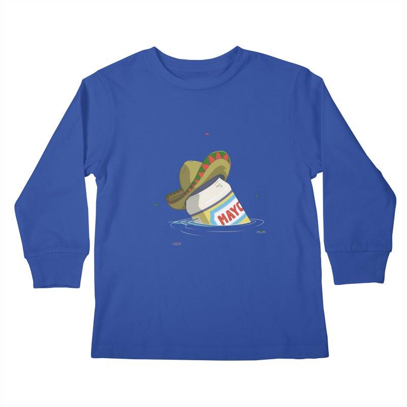 Sink-o De Mayo Kids Longsleeve T-Shirt by wilbury tees
