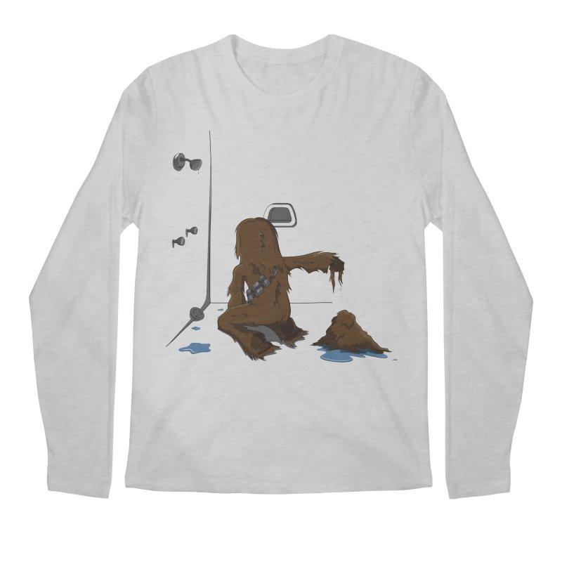 In A Shower Far Far Away Men's Longsleeve T-Shirt by wilbury tees