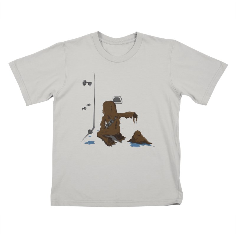 In A Shower Far Far Away Kids T-shirt by wilbury tees
