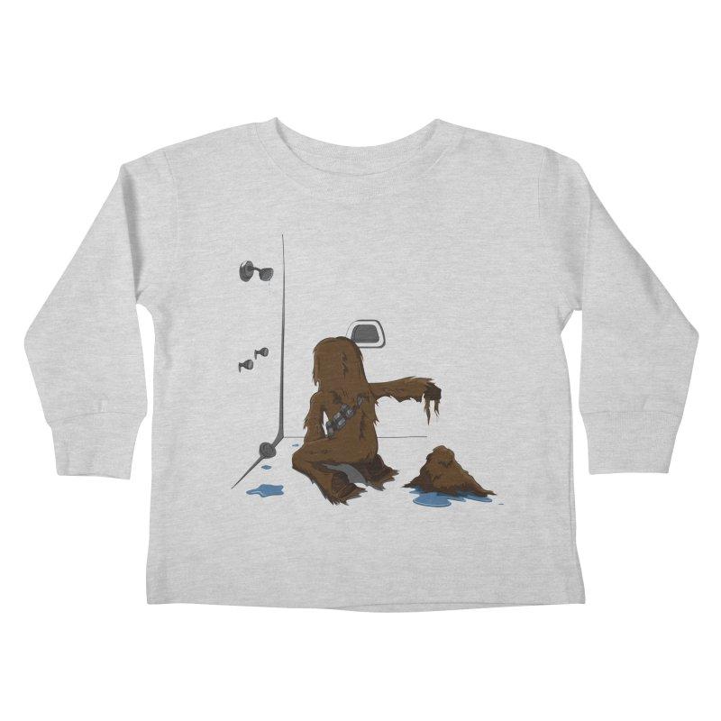In A Shower Far Far Away Kids Toddler Longsleeve T-Shirt by wilbury tees