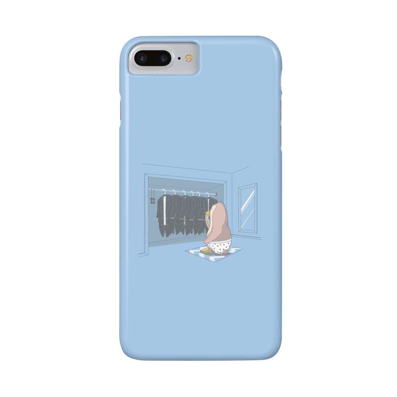 Penguin Suit Accessories Phone Case by wilbury tees