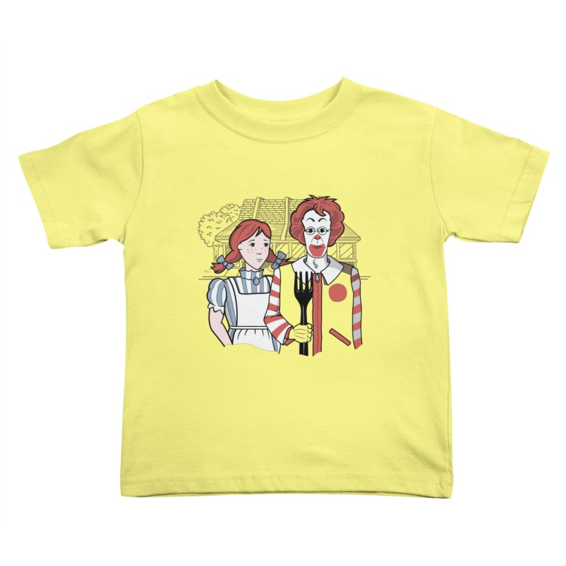 Old McDonald Kids Toddler T-Shirt by wilbury tees
