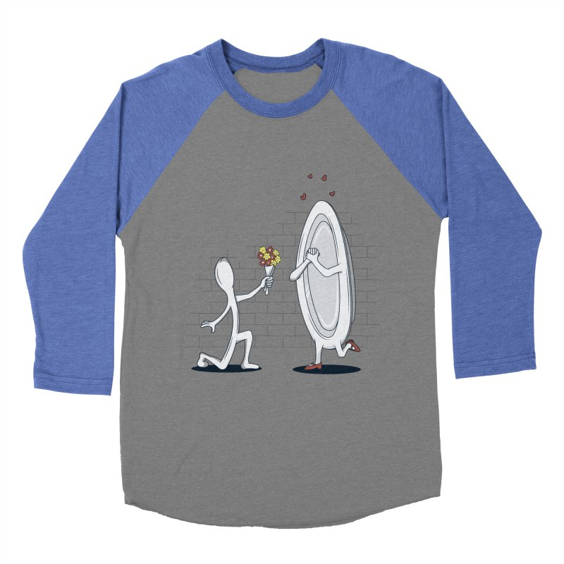 Run Away With Me Men's Baseball Triblend T-Shirt by wilbury tees
