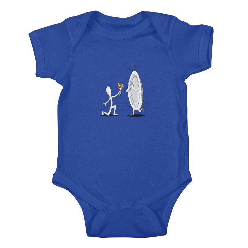 Run Away With Me Kids Baby Bodysuit by wilbury tees