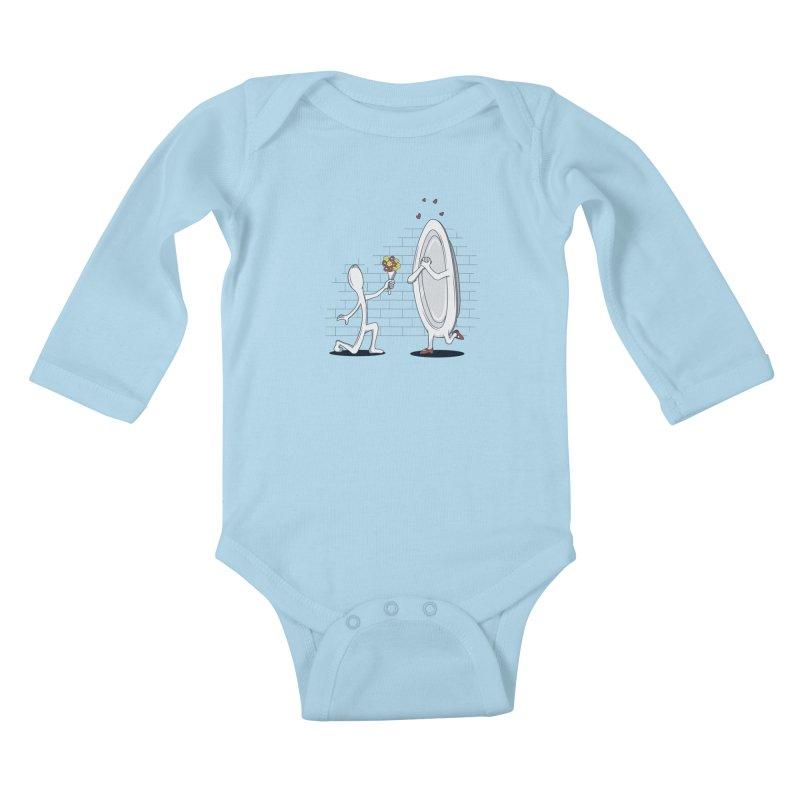 Run Away With Me Kids Baby Longsleeve Bodysuit by wilbury tees