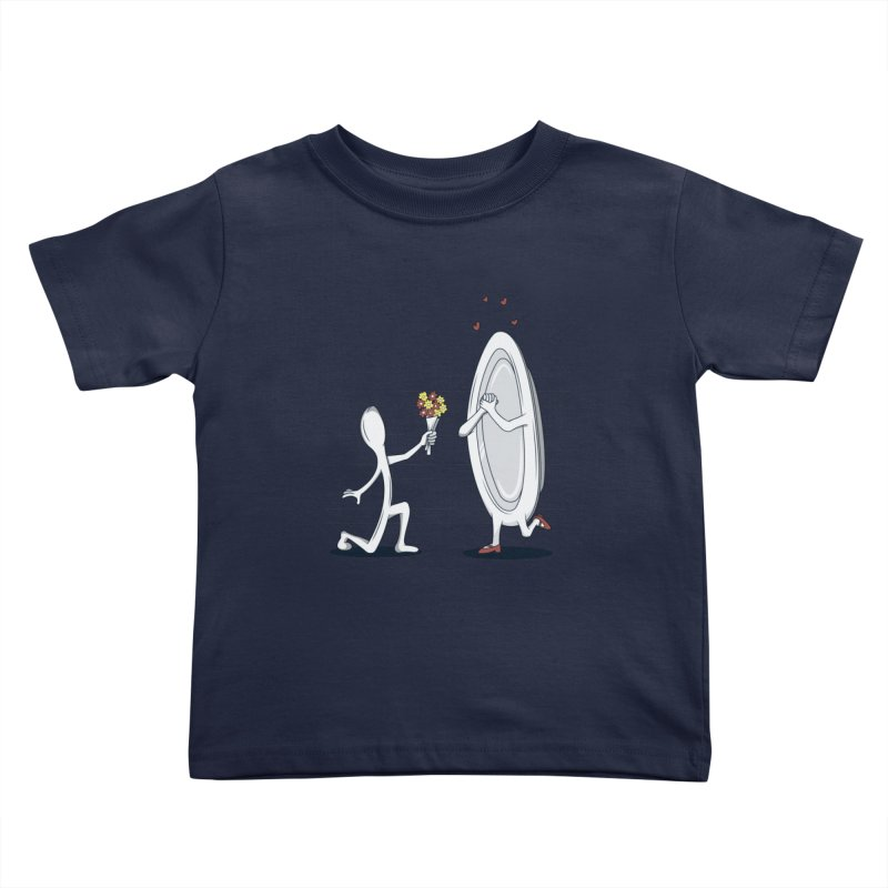Run Away With Me Kids Toddler T-Shirt by wilbury tees