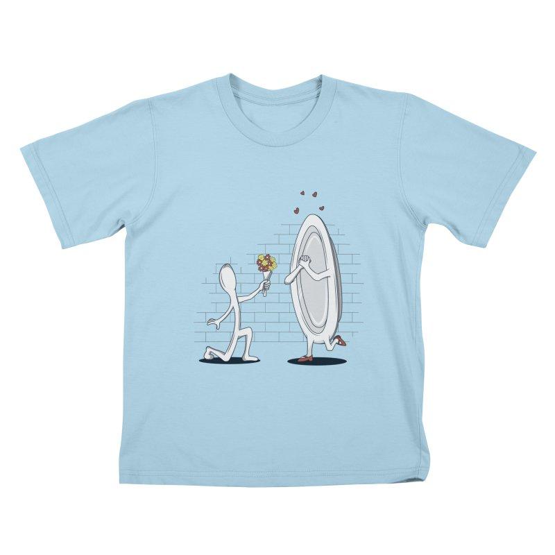 Run Away With Me Kids T-shirt by wilbury tees