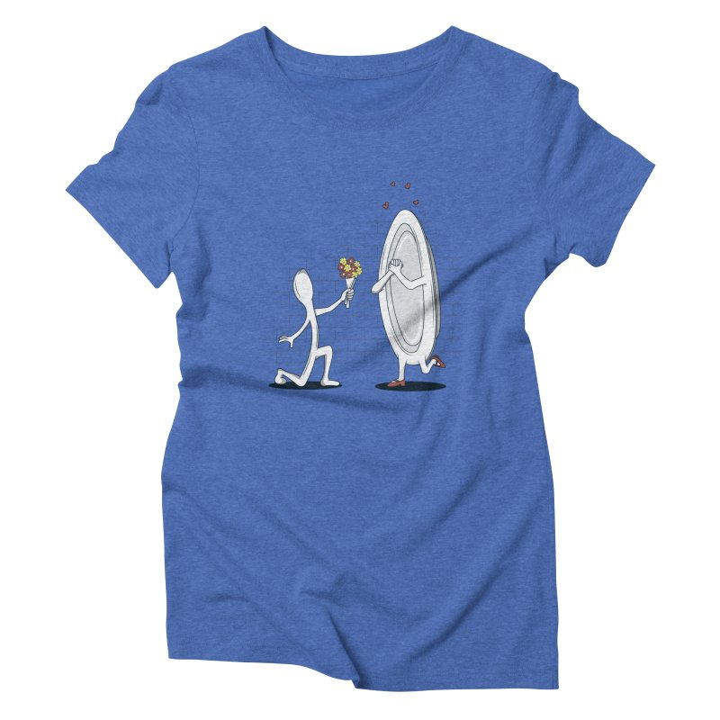Run Away With Me Women's Triblend T-shirt by wilbury tees