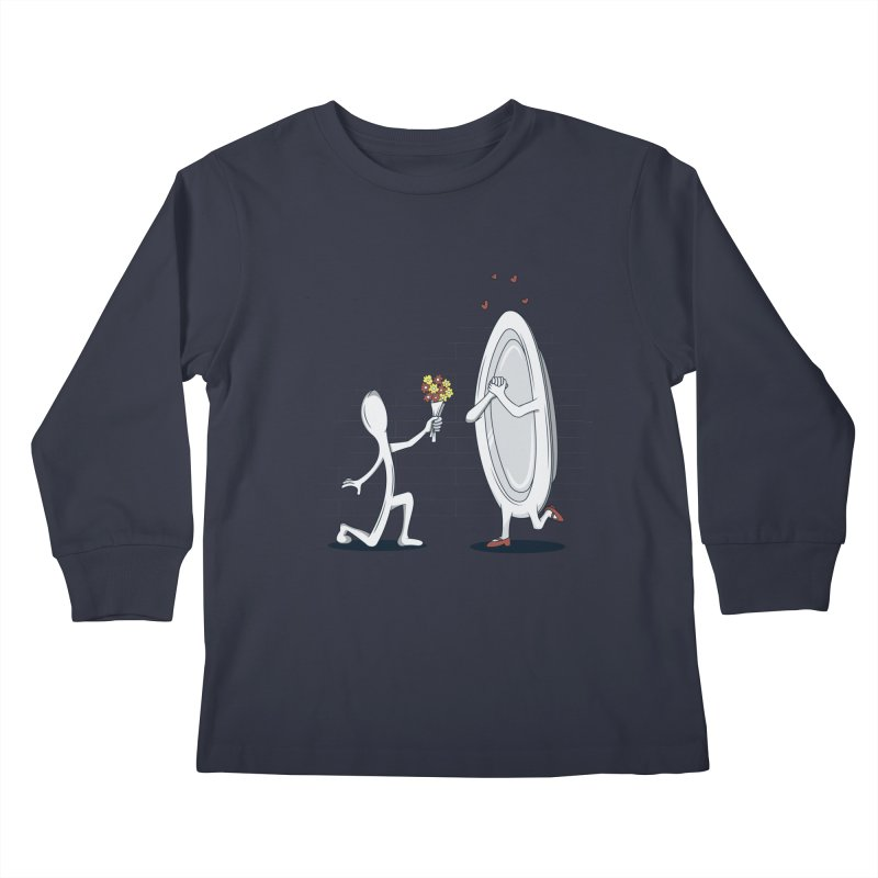 Run Away With Me Kids Longsleeve T-Shirt by wilbury tees