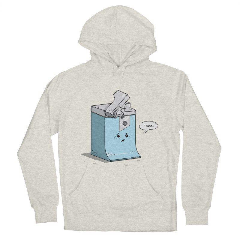 Can't Opener Men's Pullover Hoody by wilbury tees