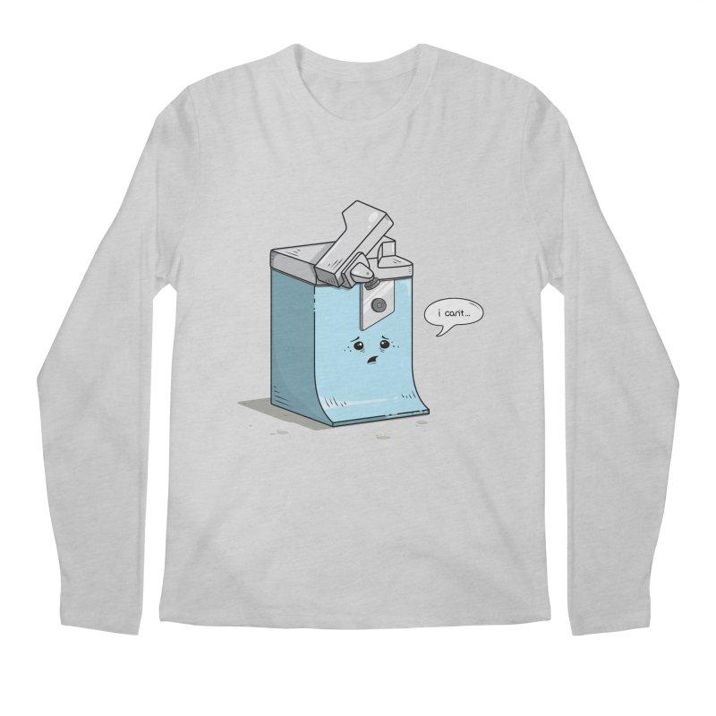 Can't Opener Men's Longsleeve T-Shirt by wilbury tees