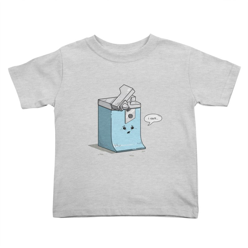 Can't Opener Kids Toddler T-Shirt by wilbury tees